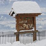 White X-mas at La Pieve
