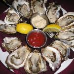 local Kachemak Bay oysters
