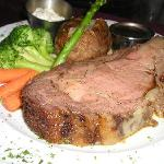choice steaks and prime rib, rack of lamb