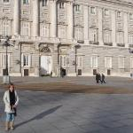 Frente al palacio de la zarzuela,casa de los reyes de españa