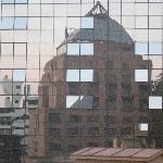 Reflections on the Santiago Park Plaza