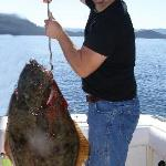 68lb Halibut caught by yours truly.