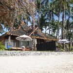 a separate villa