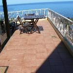 PART OF OUR L SHAPED BALCONY