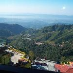Dehradun view from Mussorie