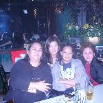 With friends at Star Tavern, Stone House