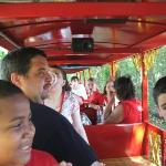 The train at the zoo.....