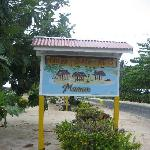 Tailua Beach Fale Sign
