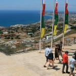 View from the stairs of Benalmadena Stupa