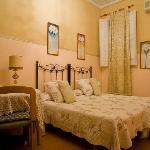Pink double bedroom in-suite