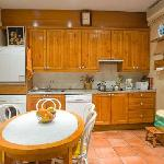 Kitchen for self-catering use