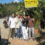 with KC & team @ Muong Lao, Luang Prabang
