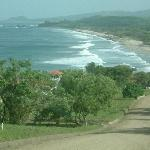 View of Playa Santana (wet season)