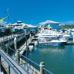 Noosa Marina with ferries to Noosa Head