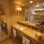 Bathroom with 2 sinks!