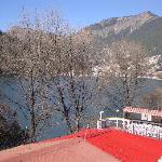 view of nani lake from terrace
