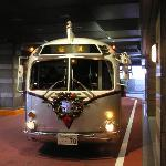 Disney Resort Bus at the Sheraton Grande Tokyo Bay