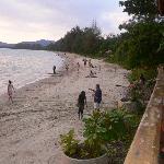 nopparat thara beach - great for jogging