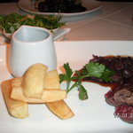 Venison and fillet steak