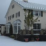 Annaharvey Guesthouse in the snow