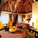 Deluxe room with historical elements