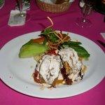 Stuffed Lobster at Chez Elena