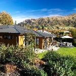 Wanaka Springs Lodge from Spa Pool
