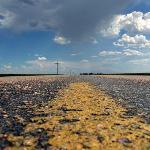Kansas country road