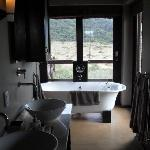 The luxurious bath