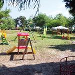 Il parco giochi per i bambini