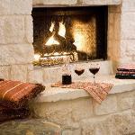 Cozy up with that special someone in front of your own fireplace.