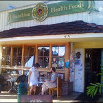 Shine Cafe - Inside Sunshine Health Foods, Morro Bay, Ca.