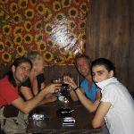 a drink after dinner
