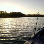 Sunset on the Glen Eden River