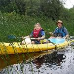 Canoeing on Lough Macnean