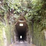 Forgotten World Highway tunnel