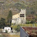 castello vicino all'albergo