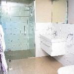heated tiled bathrooms
