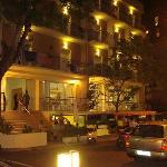 L'albergo di sera