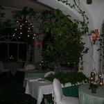 candlelit restaurant