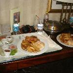 Hamburguesa del hotel