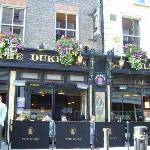 The Duke bar where the Literary Pub Crawl started. Bono used to visit every night after he'd get