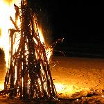 Bonfire - great for clearning away cyclone debris