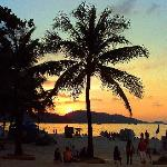 ...sunset on Patong Beach - 15 mins by foot