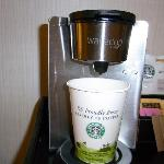 部屋で飲めるスタバコーヒー