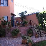 Une petite terrasse
