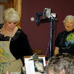 Ros Stallcup, MDA, Paula Lawton, owner of Windholme in the Barn
