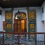 La entrada de la habitación (1er. piso)