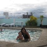 Good size pool.