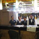 Hotel Bar/Restaurant Staff.